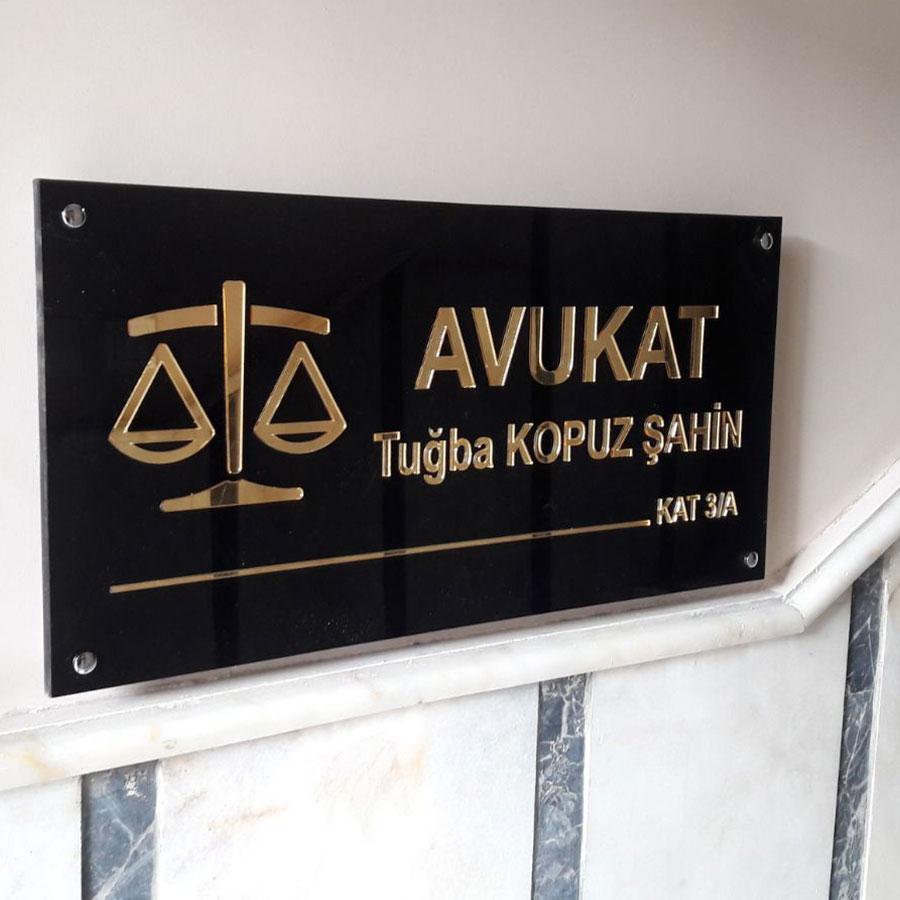 Ankara,Avukat,Tabelası